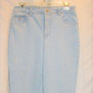 Gloria Vanderbuilt jeans sz 6